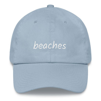Beaches Dad hat-The Tee Planet