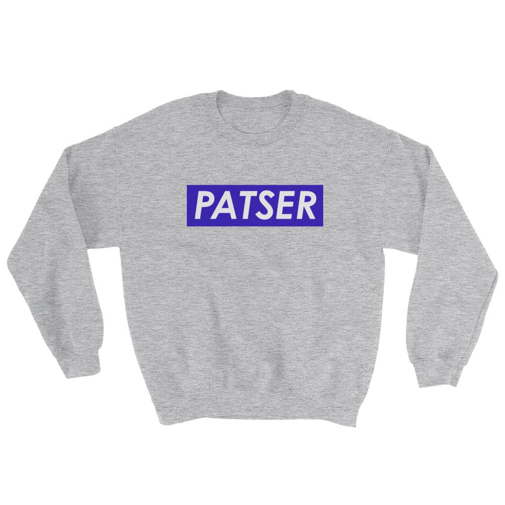 Patser Sweatshirt-The Tee Planet