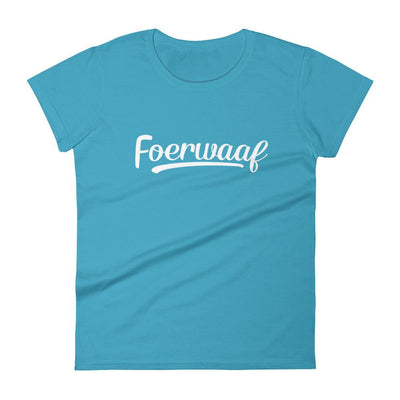 Foerwaaf Women's T-shirt-The Tee Planet