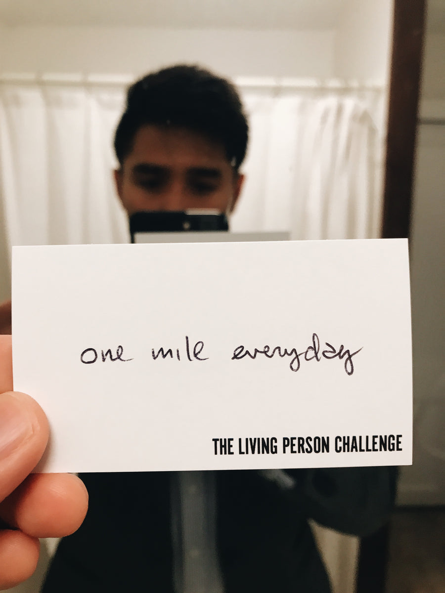 Mile a Day Registration Pack
