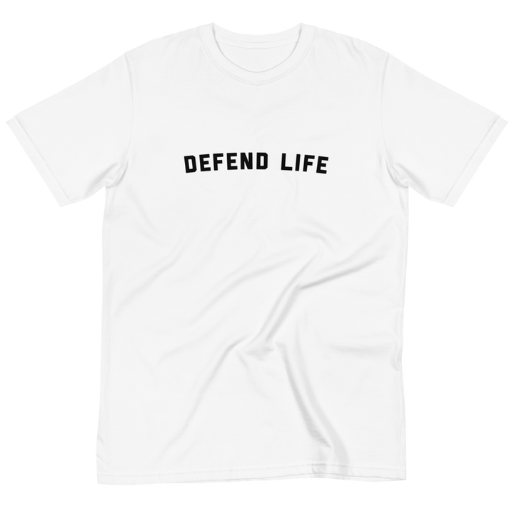 Defend Life--100% Certified Organic Cotton