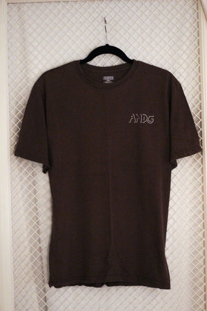 Brown AMDG x Thrifted+Threaded Tee