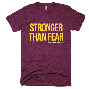 Stronger Than Fear Cranberry