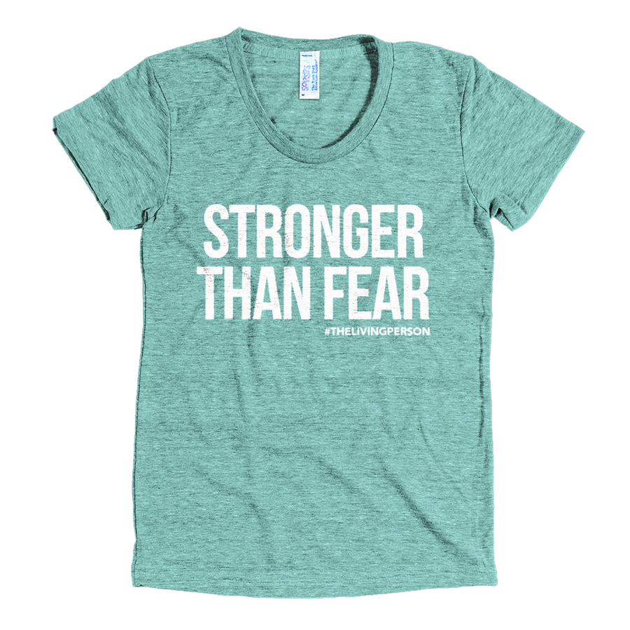 "Women's ""Stronger Than Fear"" // Tri Lemon"