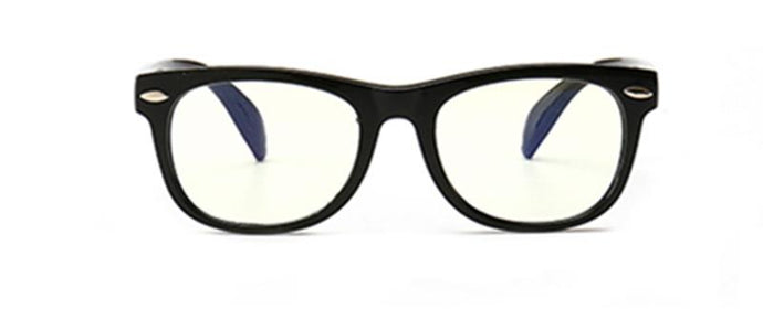LITTLEBOSS - (Black) Anti-Blue Light Glasses for Kids