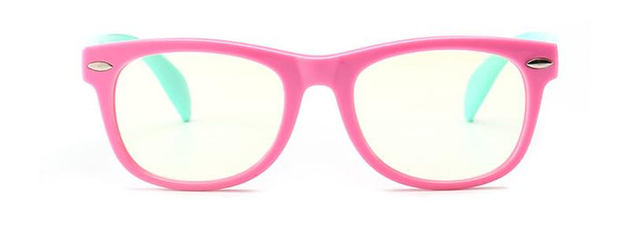 LITTLEBOSS - (Pink) Anti-Blue Light Glasses for Kids