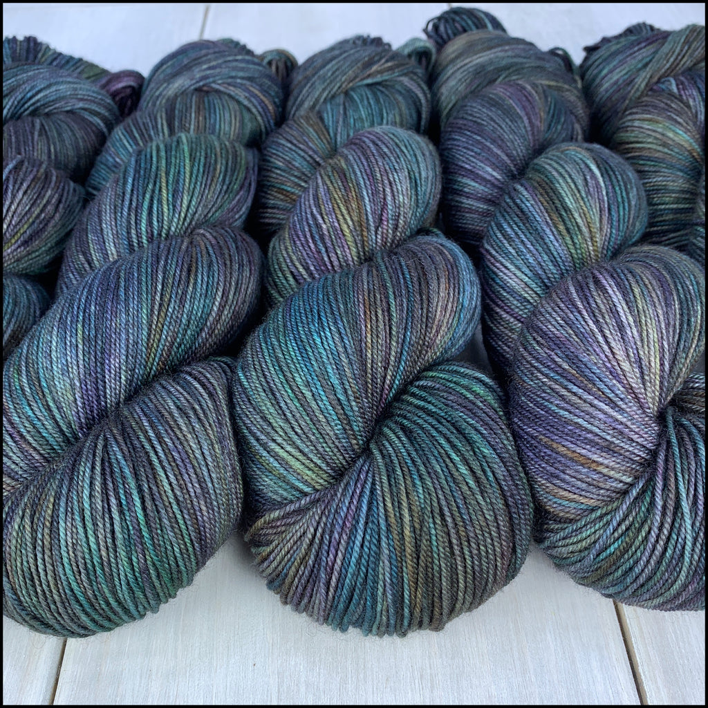 Kettle Dyed - 'Shadowfell' - York Fingering