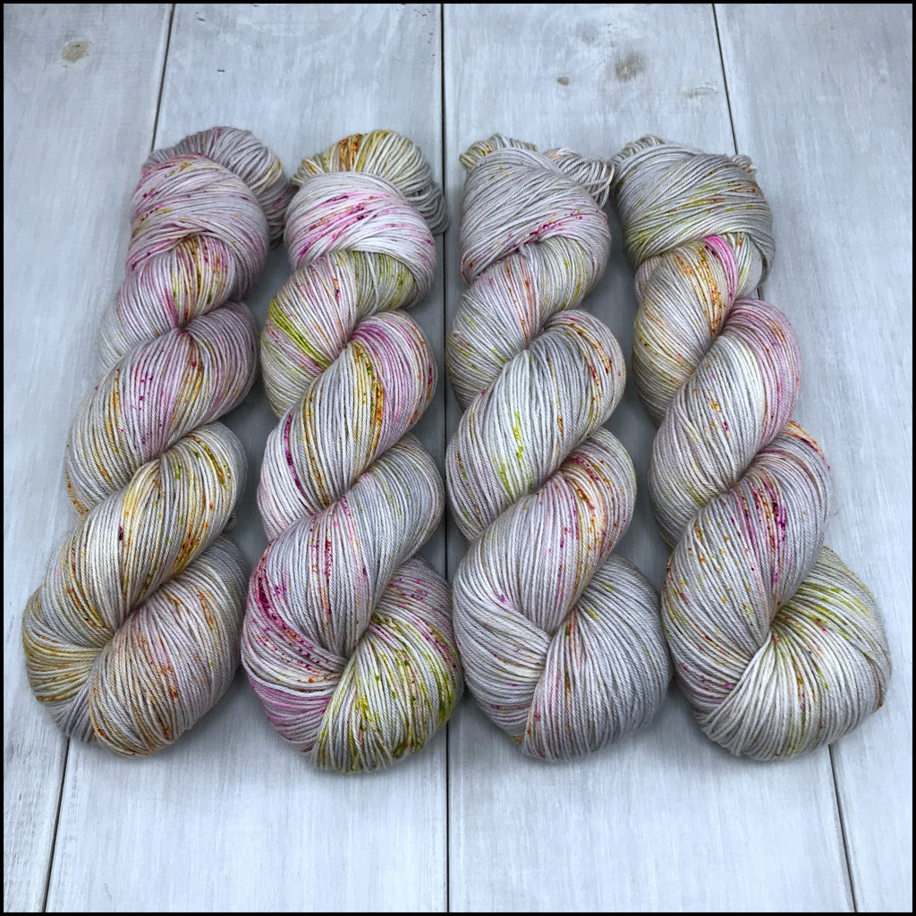 Pakokku Sock - 'Three Sheets to the Wind' - Speckle Dyed