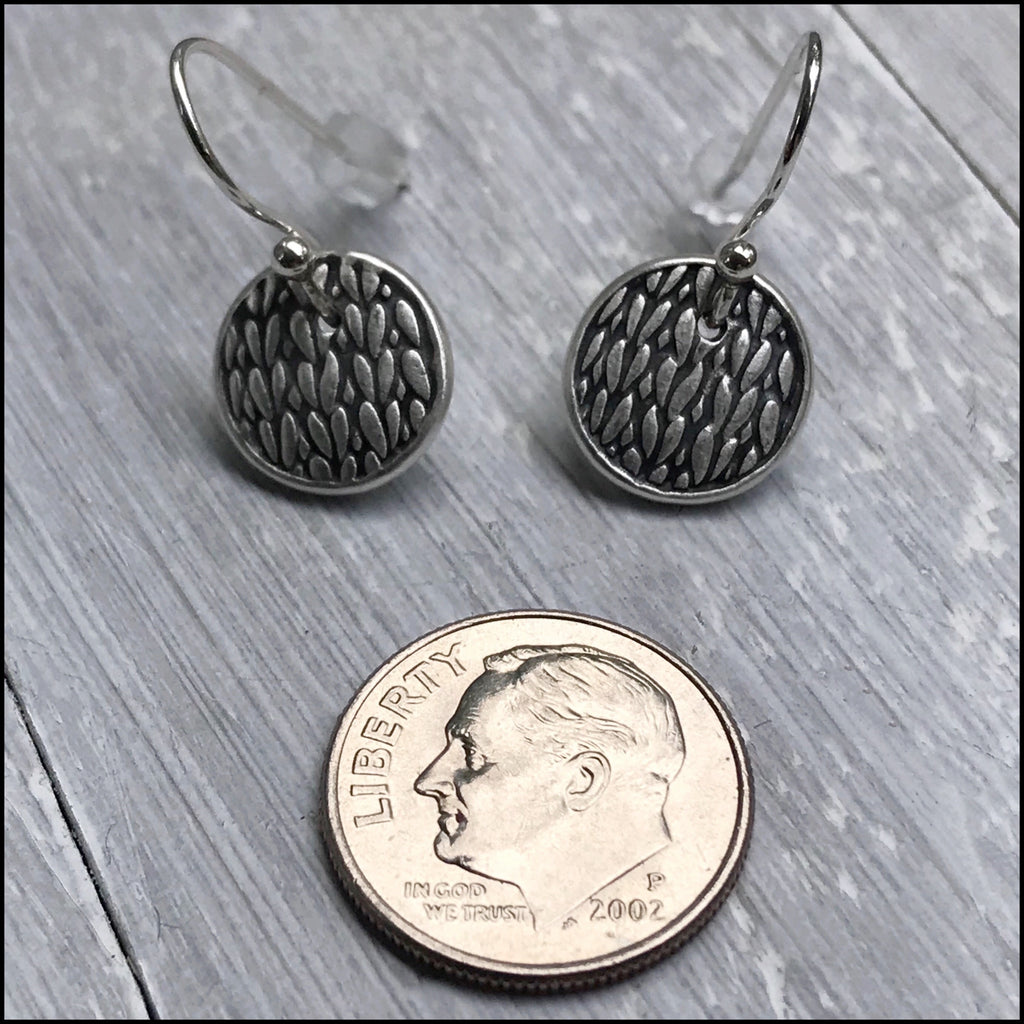 Knit Stitch Earrings