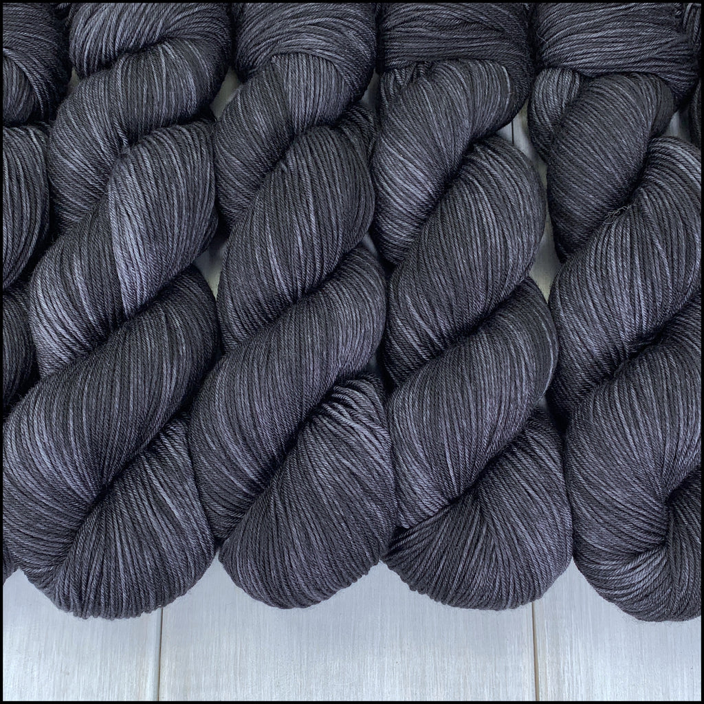 Pakokku Sock - 'Crow' - SemiSolid