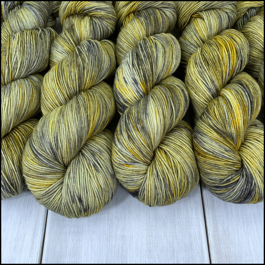 Pakokku Sock - 'Godric's Hollow' - Kettle Dyed