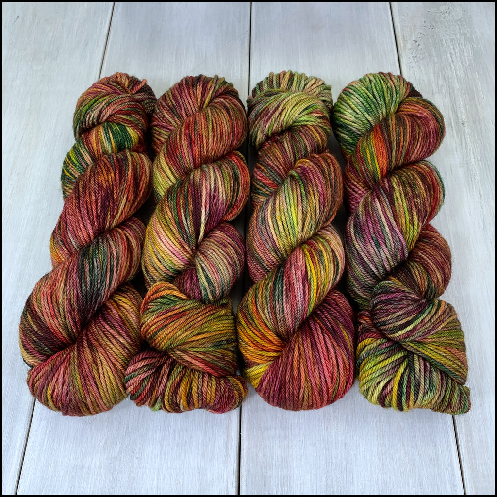 Worthington Worsted - 'Irohamomiji' - Kettle Dyed