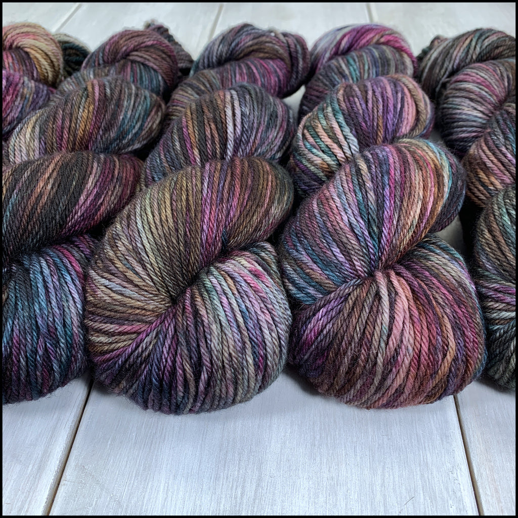 Worthington Worsted - 'Vampires of Venice' - Kettle Dyed