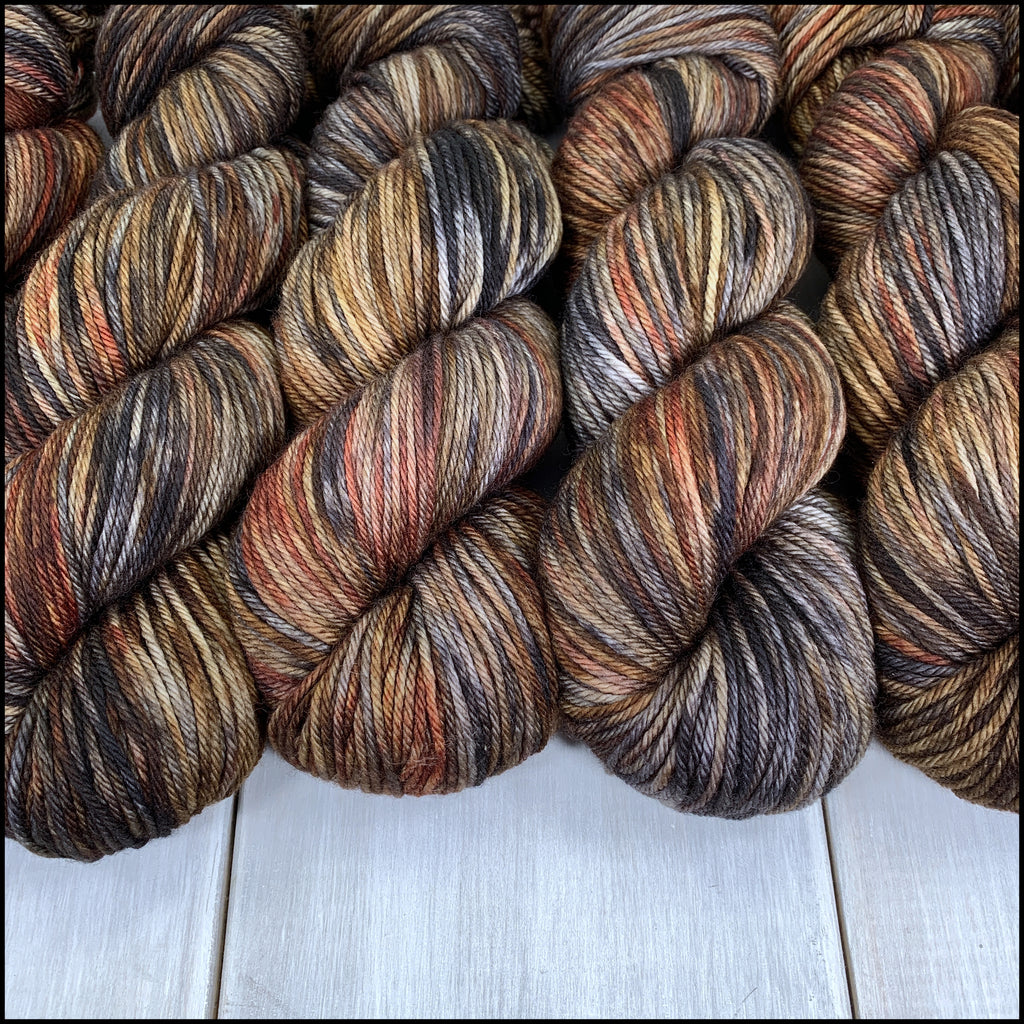 Worthington Worsted - 'Reynardine' - Kettle Dyed