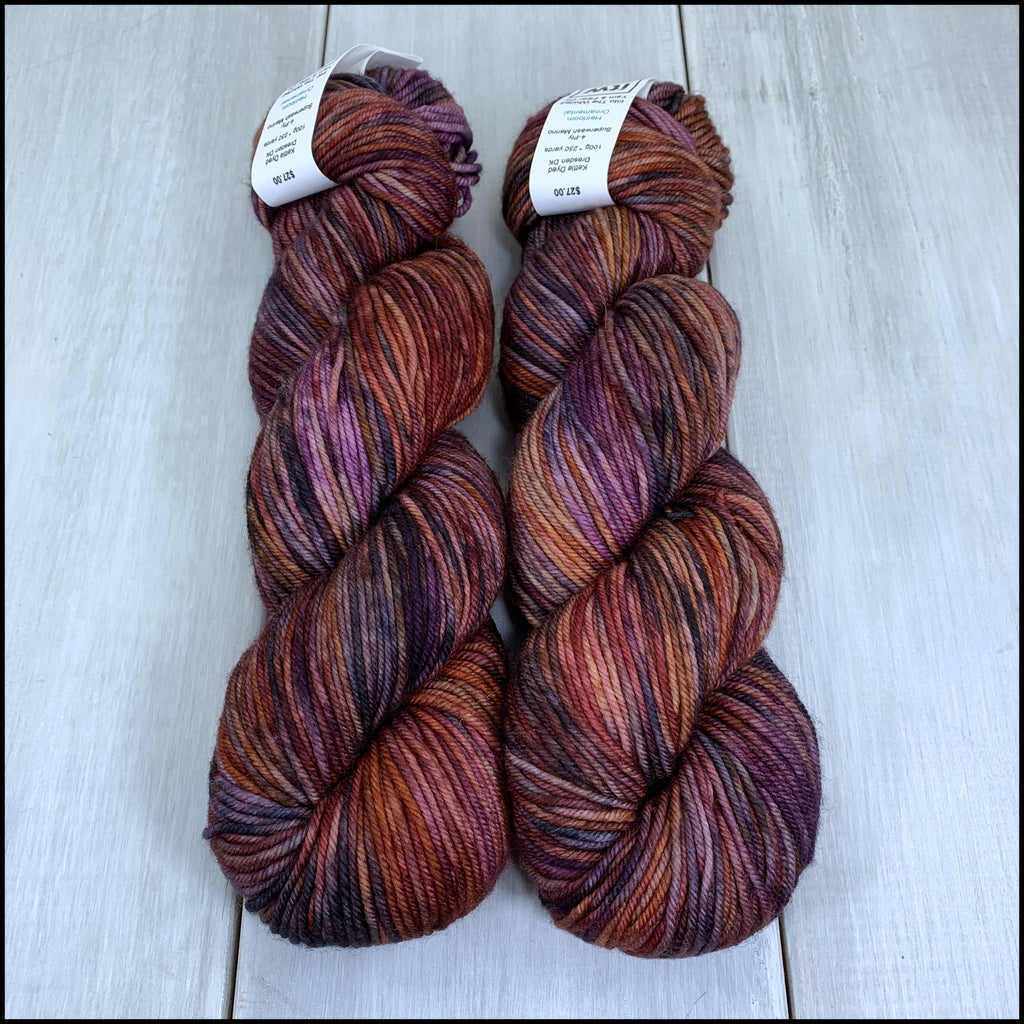 Dresden DK - 'Heirloom Ornamental' - Kettle Dyed