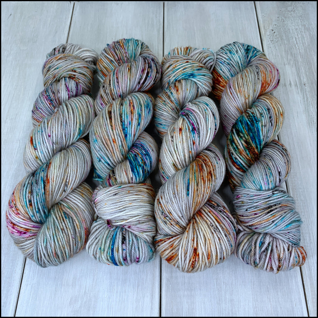Dresden DK - 'Not My Circus, Not My Monkeys' - Speckle Dyed