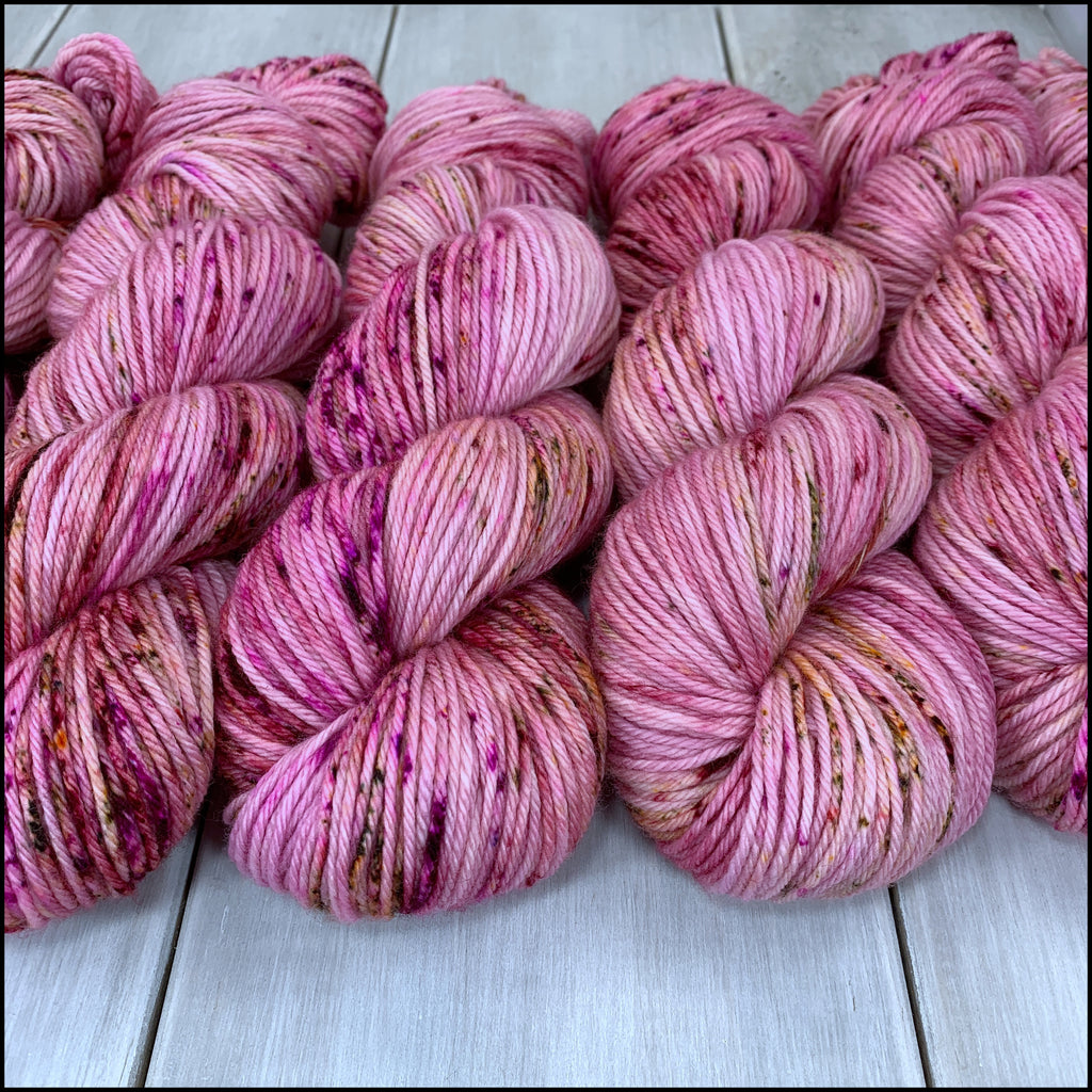 Worthington Worsted - 'Clutch the Pearls' - Speckle Dyed