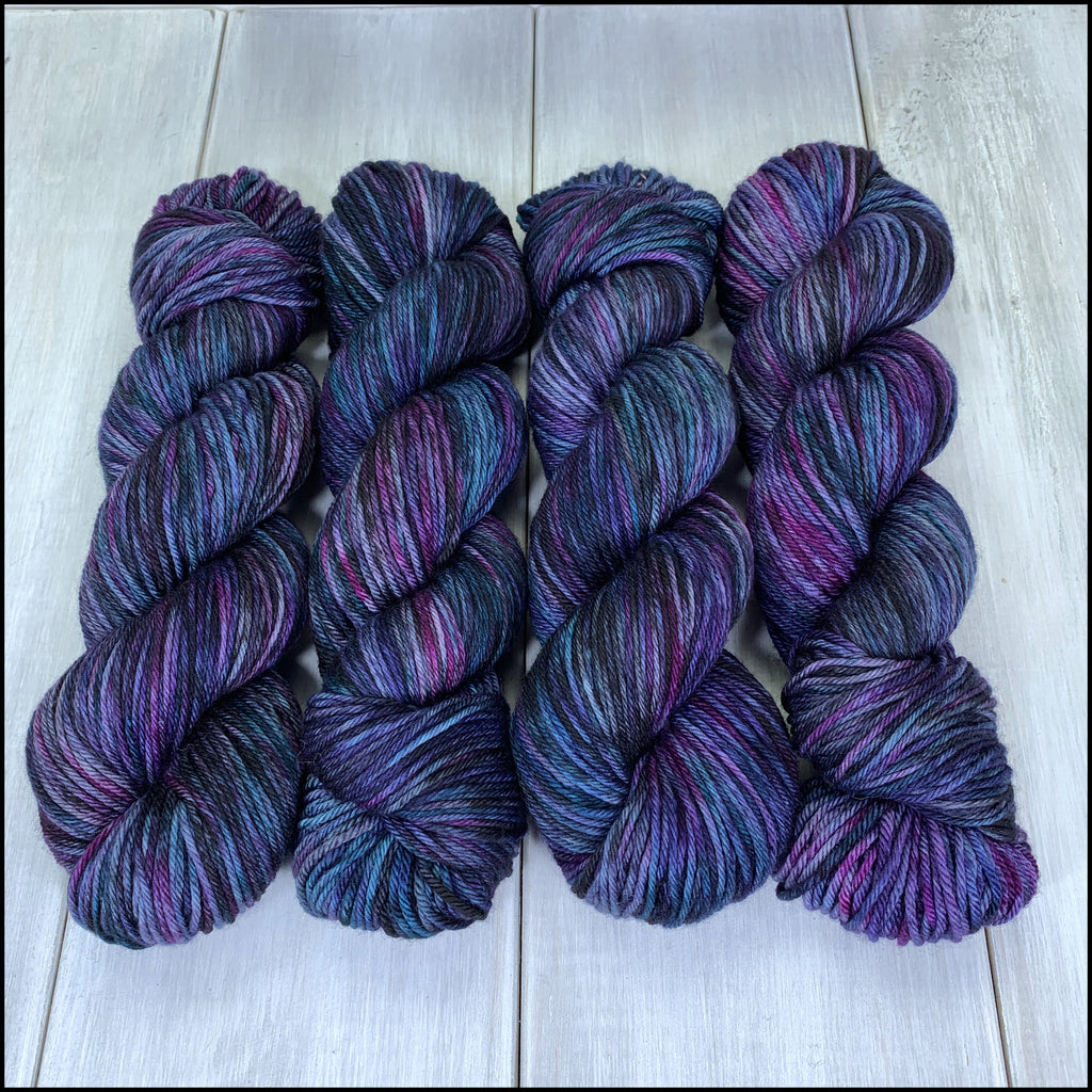 Worthington Worsted - 'The Darkest Timeline' - Kettle Dyed