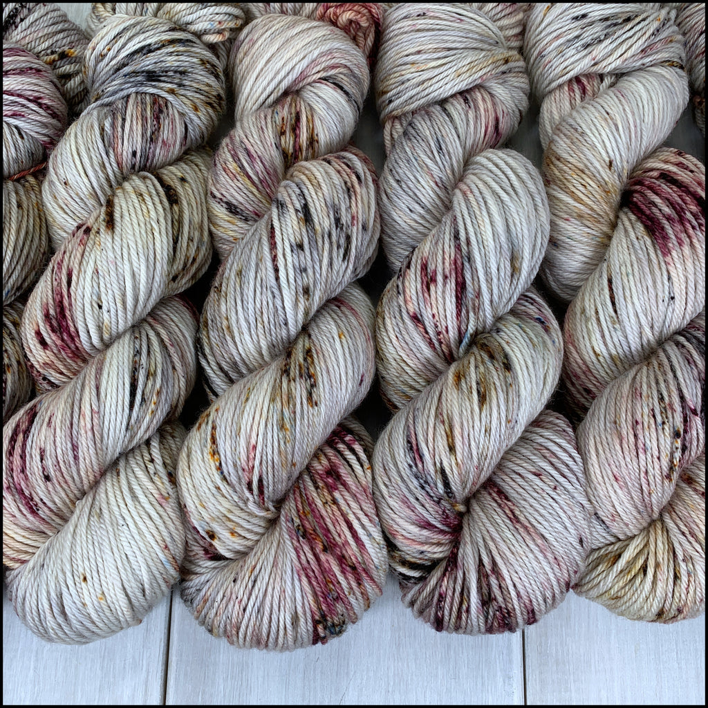 Worthington Worsted - 'Throwing Shade' - Speckle Dyed