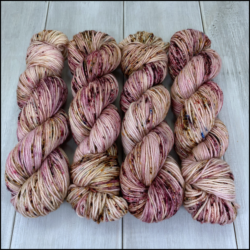 Worthington Worsted - 'As one Does' - Speckle Dyed