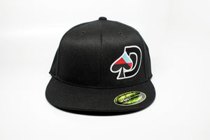 Embroidered Flexfit Flat Brim