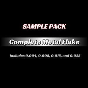Metal Flake Complete Sample Pack