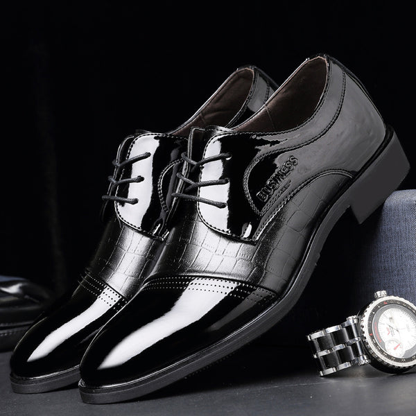 Men's Leather Oxfords Luxury Shoes