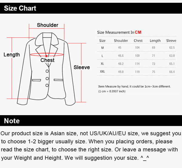 Slim Fit Men's Coats Cardigan Sweatshirts