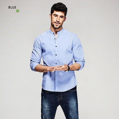 Long Sleeve Men's Casual Shirts