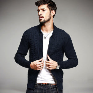 Men's Casual Knitted Cardigan