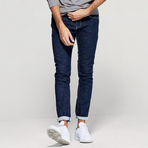 Slim Fit Men's Fashion Denim Pants