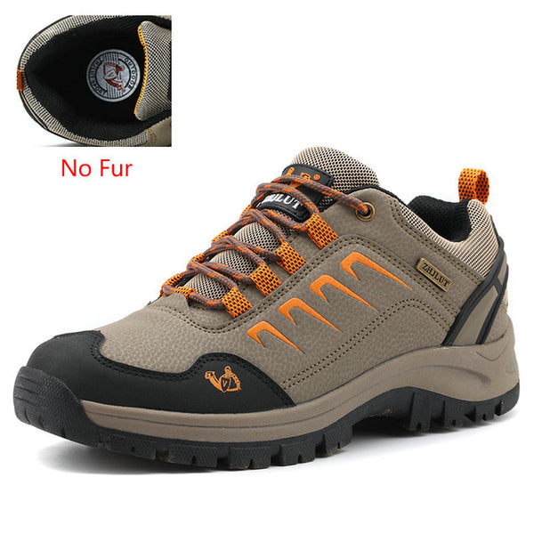 ZIMNIE Brand Men Outdoor Hiking Shoes Waterproof Breathable Hunting Trekking Shoes Pu Leather Sport Winter Climbing Hiking Shoes