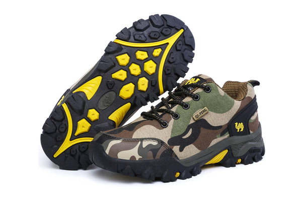 Mix Color Outdoor Hiking Shoes Unisex Men And Women Climbing Hiking Sport Shoes Breathable Lovers Comfort Camouflag Sports Shoes