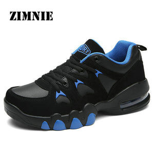 ZIMNIE Heighten 5cm Men Running Shoes New Air Cushion Sneakers Men Outdoor Sports Shoes Walking Shoes Jogging Athletic Run Shoes