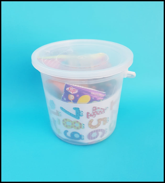 Pre-Packed Party Favour Buckets-Boys and Girls
