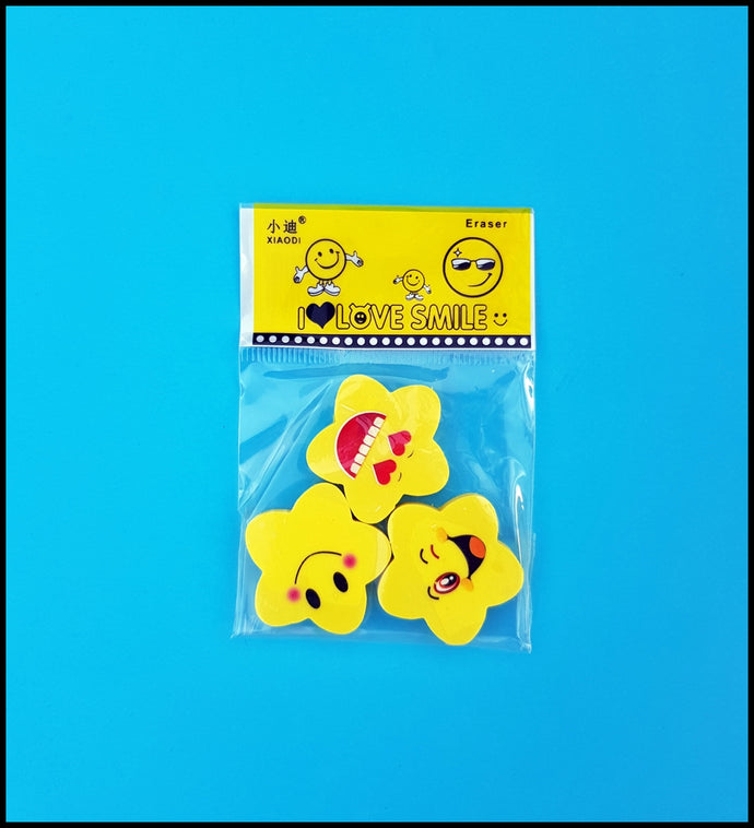 Erasers-Flower Shape