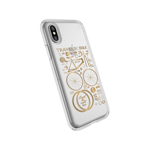Speck Presidio Cases for iPhone Xs Max (Presidio Grip, Clear)