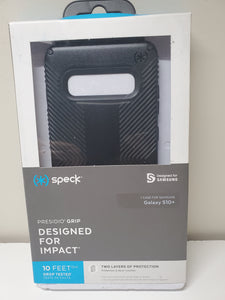 Speck Presidio Grip for Samsung Galaxy S10 Plus - Black or Navy Blue