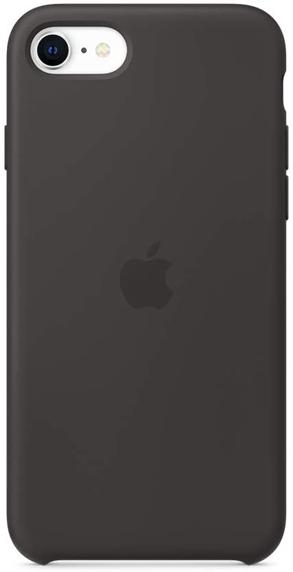 Apple Silicone Case for iPhone 8 Black (Compatible with iPhone 7 and iPhone 6)