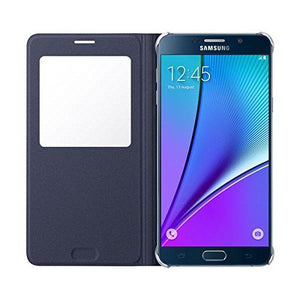 Samsung Galaxy S6 edge plus S View Flip Cover Case S6 Edge+ Black Sapphire - Henton - Shop Hentons