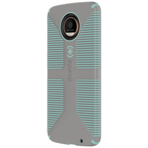 Speck Case for Moto Z Droid Edition CandyShell Grip Grey - Henton - Shop Hentons