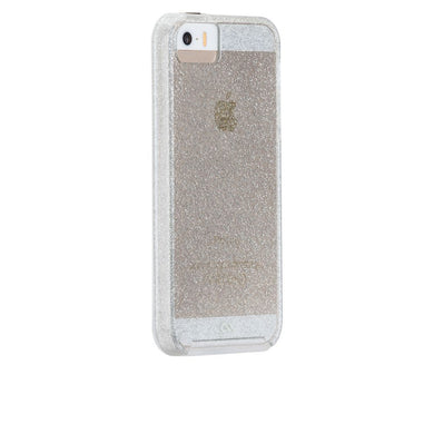 Case-Mate Dual-Layer Protection Transparent Glitter Case for iPhone 5/5s/SE