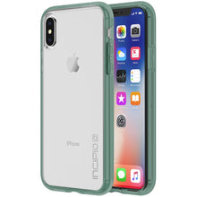 Incipio Octane Pure Case for iPhone X/XS Clear/ Mint