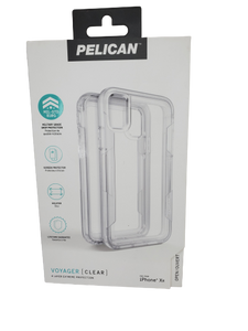 Pelican Voyager (Clear) Holster Case for iPhone XR