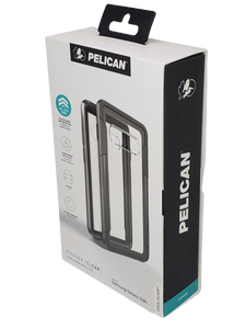 Pelican Voyager Clear/ for Samsung Galaxy S10 Plus -  Belt Clip Holster Kickstand