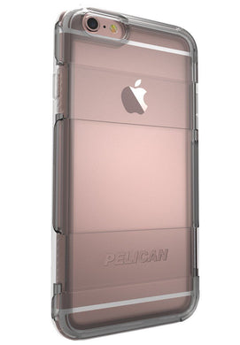 Pelican iPhone 6 Plus Adventurer - Transparent Case - Dark Gray, Pink, or Clear Bumper - Henton - Shop Hentons