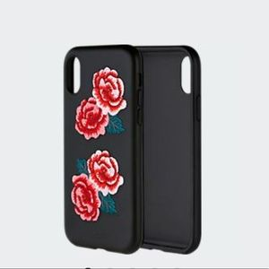 Sonix iPhone X/Xs Leather Series - Clear Coat Cases - Tokyo Wave, Sapphire Bloom, Flora