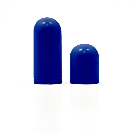 Colored  Separated Gelatin Capsules Size 0 Blue/Blue (Box of 100,000) CAPS ONLY