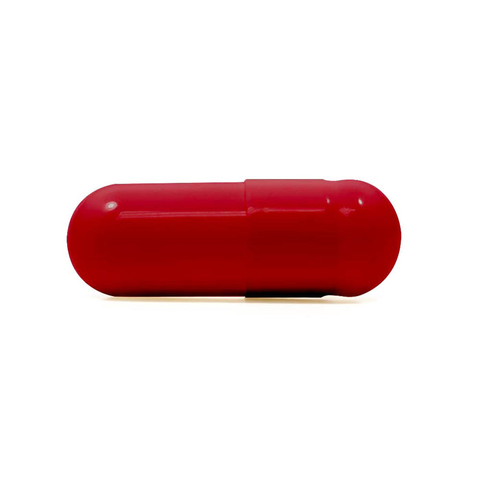 colored size 00 empty vegetarian capsules by capsuline red red box