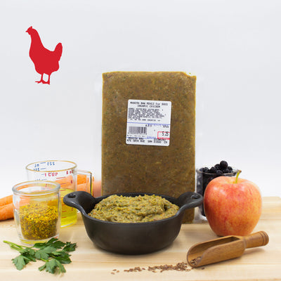 Maxota Raw Dog Food: Hand-Crafted in San Diego - Chicken Recipe